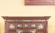 Tủ thờ gỗ gụ gỗ tự nhiên