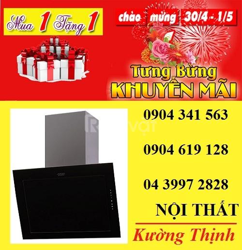 Giảm giá  khi mua máy hút mùi Munchen GM 323E