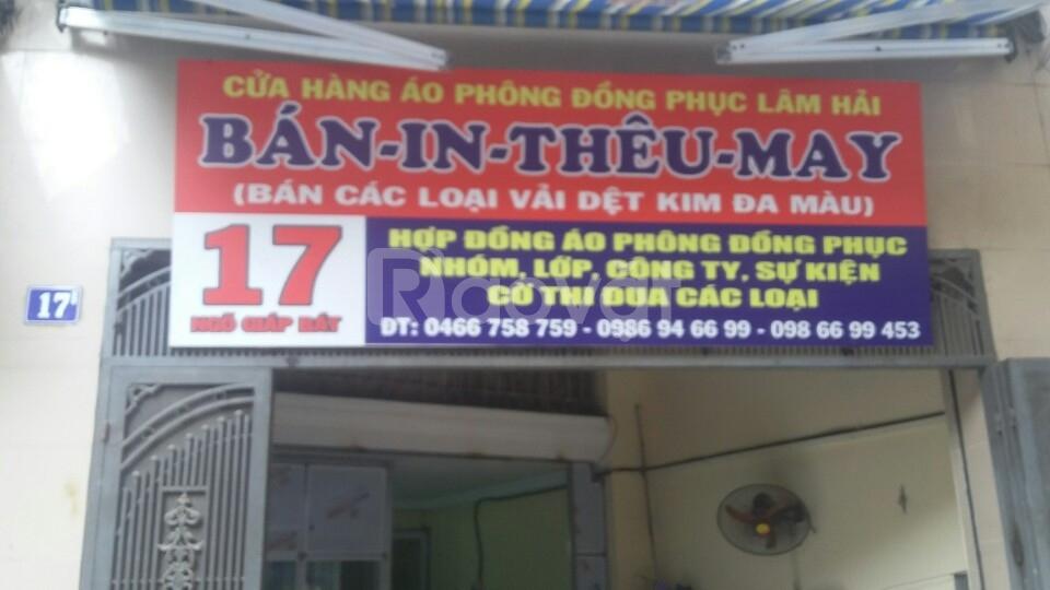 Thêu vi tính tại Hà Nội giá rẻ, nhận số lượng ít