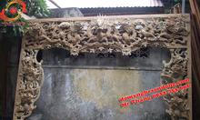 Cửa võng đẹp cho phủ, đình đền, chùa gỗ lõi
