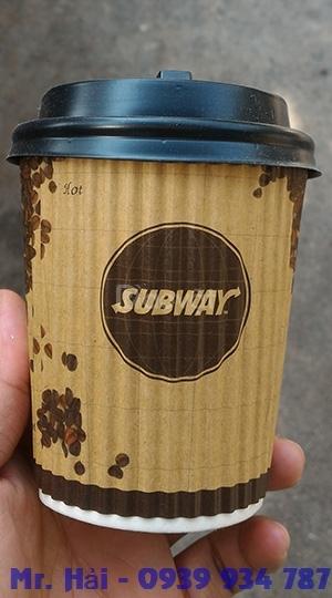 Ly giấy & ly nhựa nắp cầu in logo