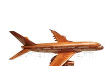 Gỗ Việt Mỹ Nghệ bán mô hình máy bay gỗ Boeing