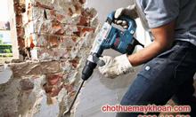 Cho thuê máy đục bê tông tại Hà Nội