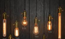 đèn trang trí nghệ thuật edison