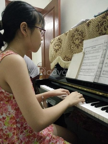 Dạy Piano trên 100% đàn cơ