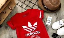 Áo thun in adidas cho bé trai 2 - 9 Tuổi