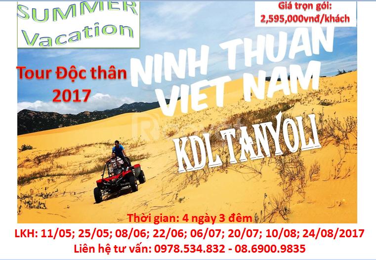 Tour Ninh Chữ - KDL Tanyoli cho người độc thân