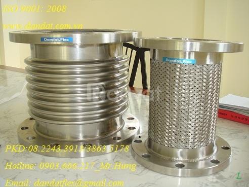 MB PN63 INOX 316, KHỚP NỐI MỀM(ỐNG + LƯỚI)INOX 304