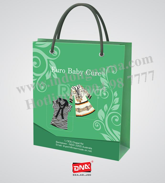 In túi giấy đẹp giá rẻ tại Hà Nội
