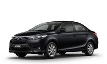 cho thuê xe có lái xe vios đen số tự động mới 100%