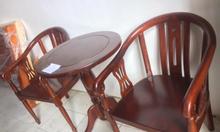 Bộ Bàn trà 1 bàn 2 ghế gỗ tự nhiên 100%