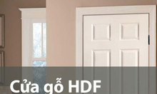 Cửa gỗ HDF, mẫu Cửa HDF đẹp, giá rẻ cho Phòng ngủ