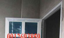 Cửa nhôm Việt pháp màu vân gỗ, cửa nhôm Việt Pháp