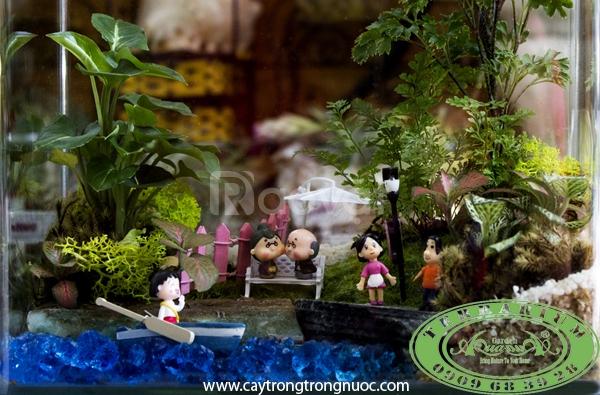 Câu chuyện về gia đình Cây cảnh AquaGarden