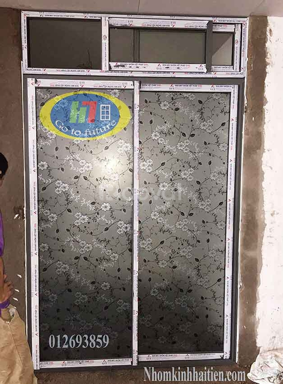 Cửa nhôm Việt Pháp hệ 4400, cửa nhôm Việt Pháp đẹp