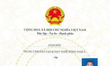 Chứng Chỉ Phun Xăm Thẩm Mỹ tại Hà Nội