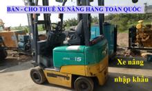 Bán - cho thuê xe nâng điện Komatsu 1,5 tấn