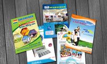 In tờ rơi giá rẻ , tờ gấp giá rẻ, in brochure