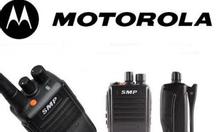 Bộ đàm motorola smp 418 dùng cho bảo vệ.!