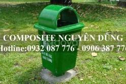 Thùng Rác Chân Nhựa 55L Giá Rẻ Tại TPHCM