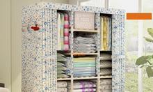 Tủ vải cao cấp Khung gỗ  -  Bền Đẹp - Giá hợp lý