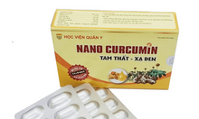 Nano Curcumin tam thất xạ đen