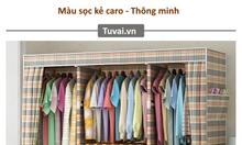 Tủ vải đựng quần áo cao cấp - Siêu bền đẹp