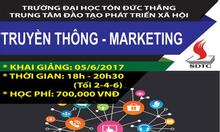 Chiêu sinh khóa học : Truyền thông – marketing