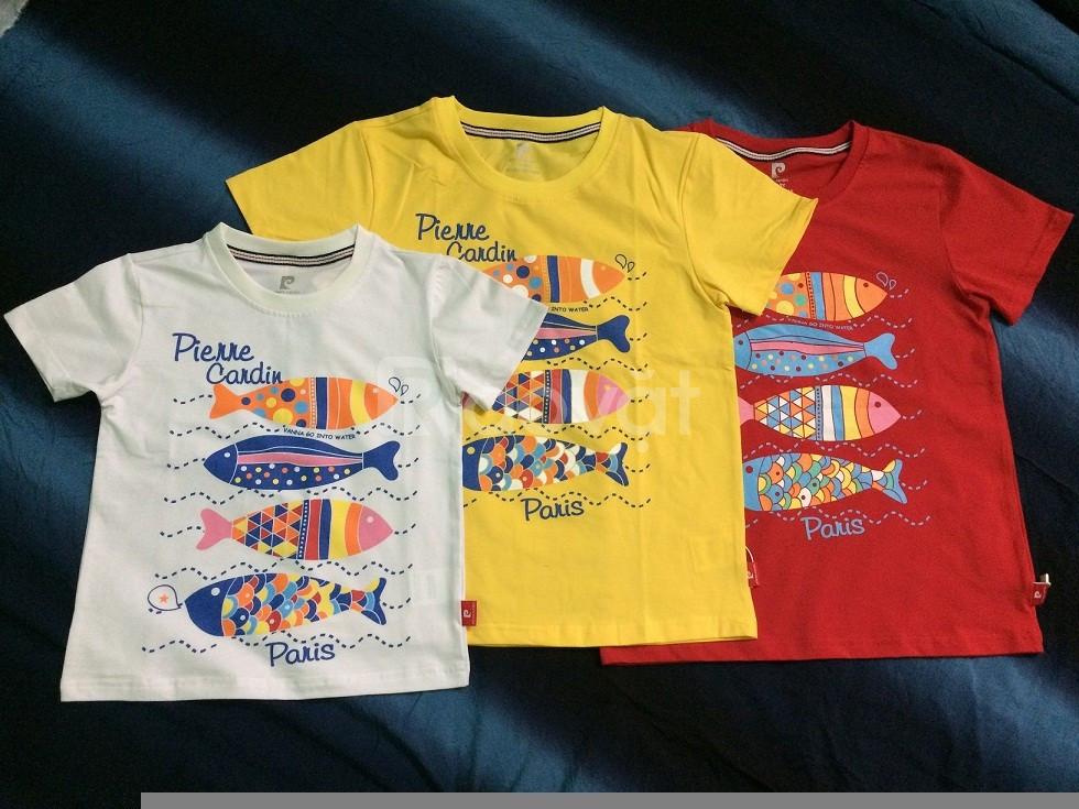 Áo trẻ em Pier*e Ca*din, cotton 100%