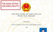 Chứng Chỉ Vận Hành Lò Hơi- Máy Nén Khí 0984328679