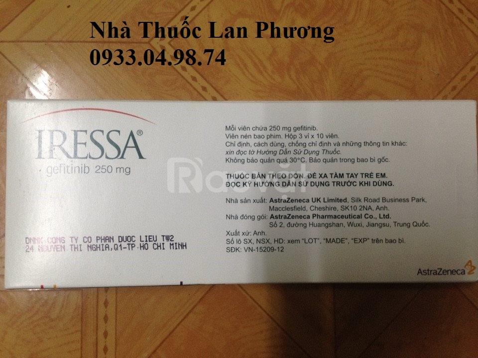 Giá Thuốc Iressa 250mg Gefitinib tphcm