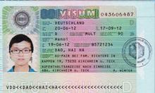 Làm Visa Đức thăm thân nhân
