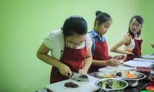 Trường nào dạy nấu ăn cho trẻ trong mùa hè này?