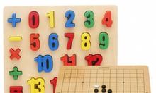 Đồ chơi gỗ, đồ chơi giáo dục trẻ từ 0-8 tuổi.