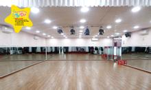 Cho thuê phòng tập nhảy, phòng dạy học.