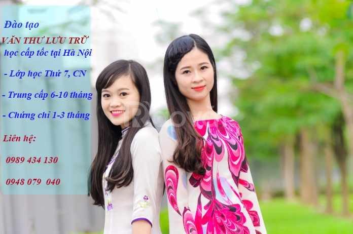 Trường trung cấp văn thư lưu trữ Hà Nội tuyển sinh