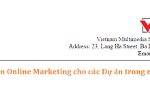 Online Marketing cho các Dự án nước ngoài