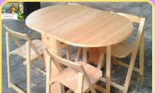 Cách chọn bàn ghế ăn bằng gỗ ashara