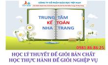 Đào tạo kế toán thực hành tổng hợp tại Nha Trang
