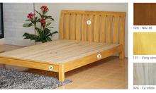 Giường ngủ đôi tự nhiên đẹp Mercy-1610w