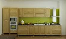 Tủ bếp Sồi nga đẹp