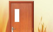 Cửa cống cháy , cửa gỗ chống cháy , cửa thoát hiểm