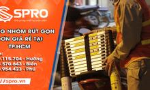 Thang nhôm rút gọn đơn giá rẻ tại TPHCM