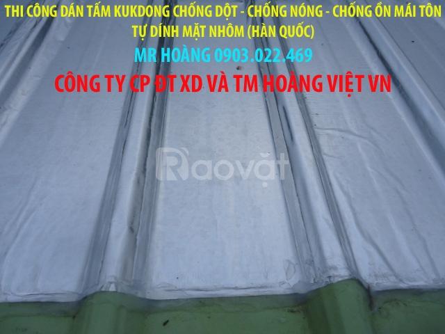 Tấm trải chống dột-chống nóng-chống ồn mái tôn