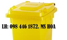 Thùng rác nhựa composite,thùng rác nhựa hdpe