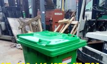 Khuyến mãi lớn, xe đẩy rác 660l, 1100 lít