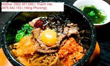 Dạy nấu món ăn Hàn Quốc