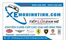 Xe mô hình – xe mô hình tĩnh lớn nhất Việt Nam