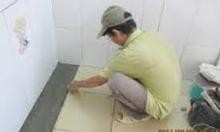 Thợ ốp lát gạch, thợ ốp lát nhà tắm giá rẻ tại HN
