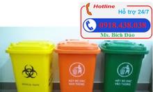 Thùng rác 120l, 240l, thùng đựng rác